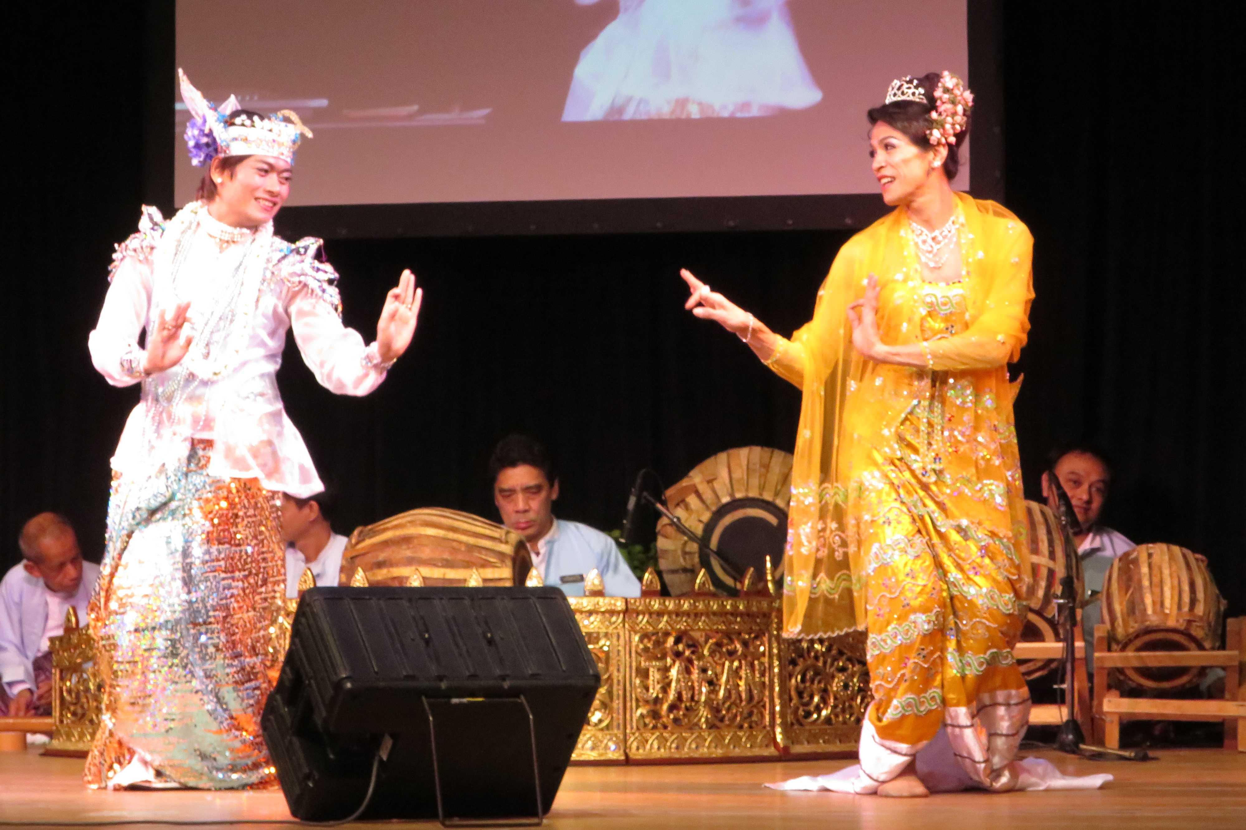 伝統芸能 - ミャンマー祭り2016