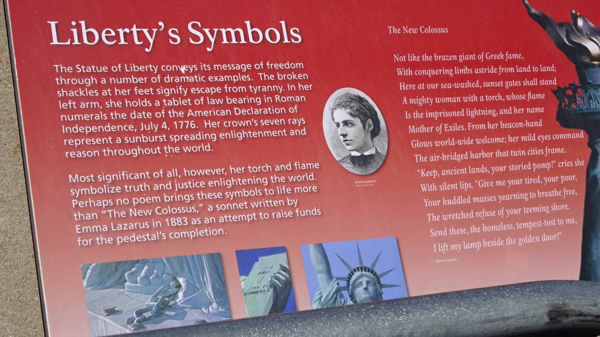 自由の女神像にある、エマ・ラザラスのソネットの英語で見つけた定型 ...