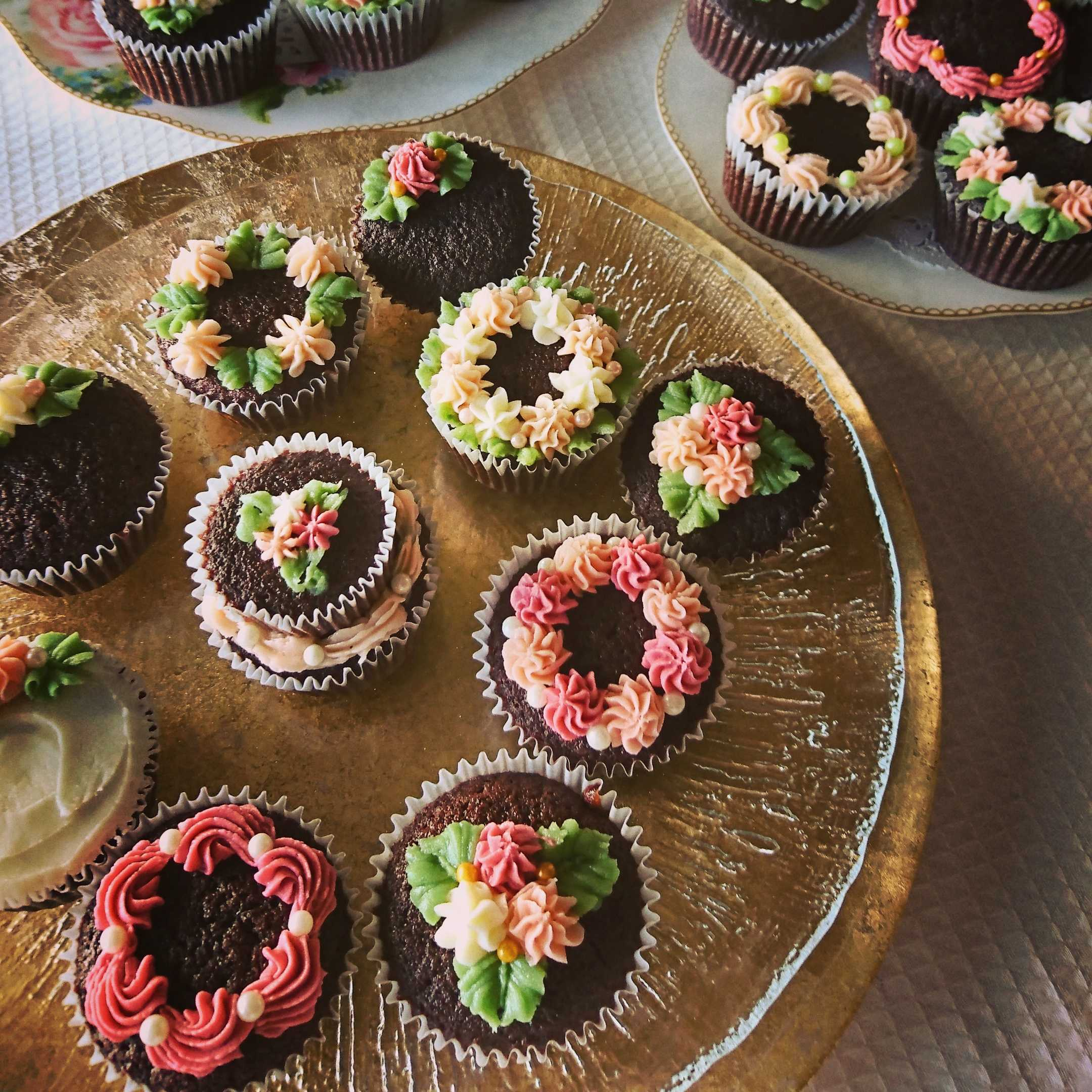 ケーキ バレンタイン カップ