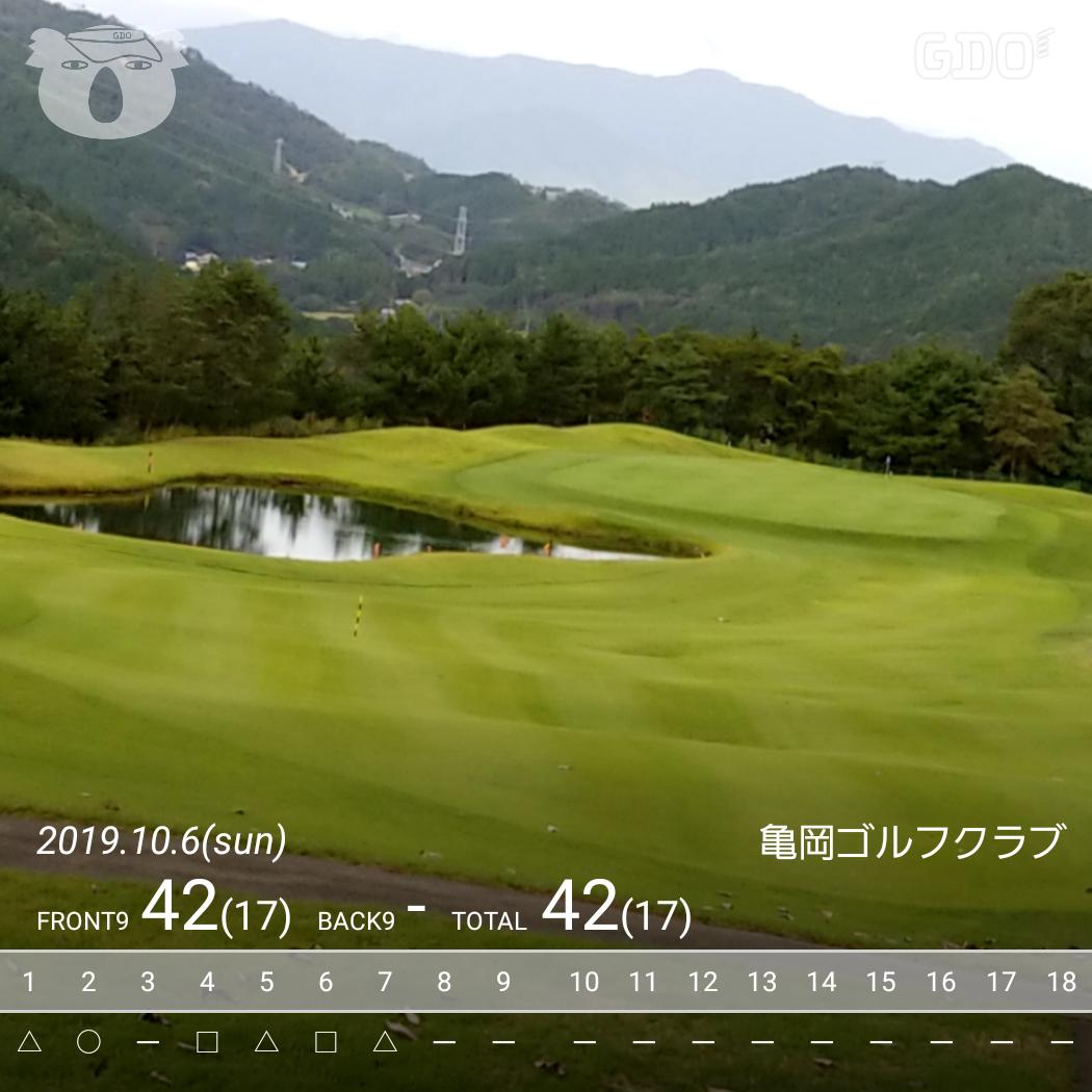 亀岡 ゴルフ クラブ 天気