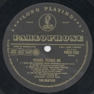 BEATLES オーストラリア盤LP (1) Please Please Me
