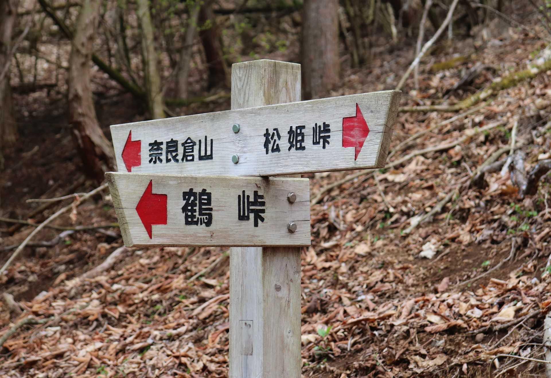 奈良倉山|鶴峠から秀麗富嶽十二景の奈良倉山へ挑戦!下山は人気のトチ ...