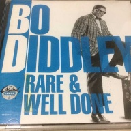 CD:ボ・ディドリー  Bo Diddley ‎ 「Rare & Well Done」