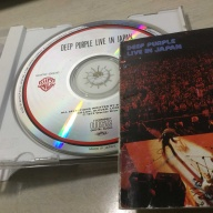 CD: ディープ・パープル DEEP PURPLE 「Live In Japan」