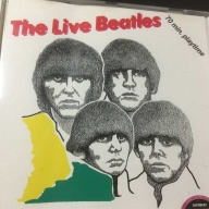 CD:ビートルズ 「THE BEATLES LIVE IN JAPAN 1964」