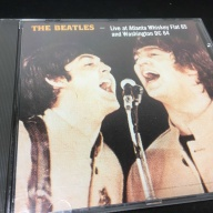 ビートルズ  海賊盤CD「 The Beatles Live In Atlanta Whiskey Flat」&「 Washington DC