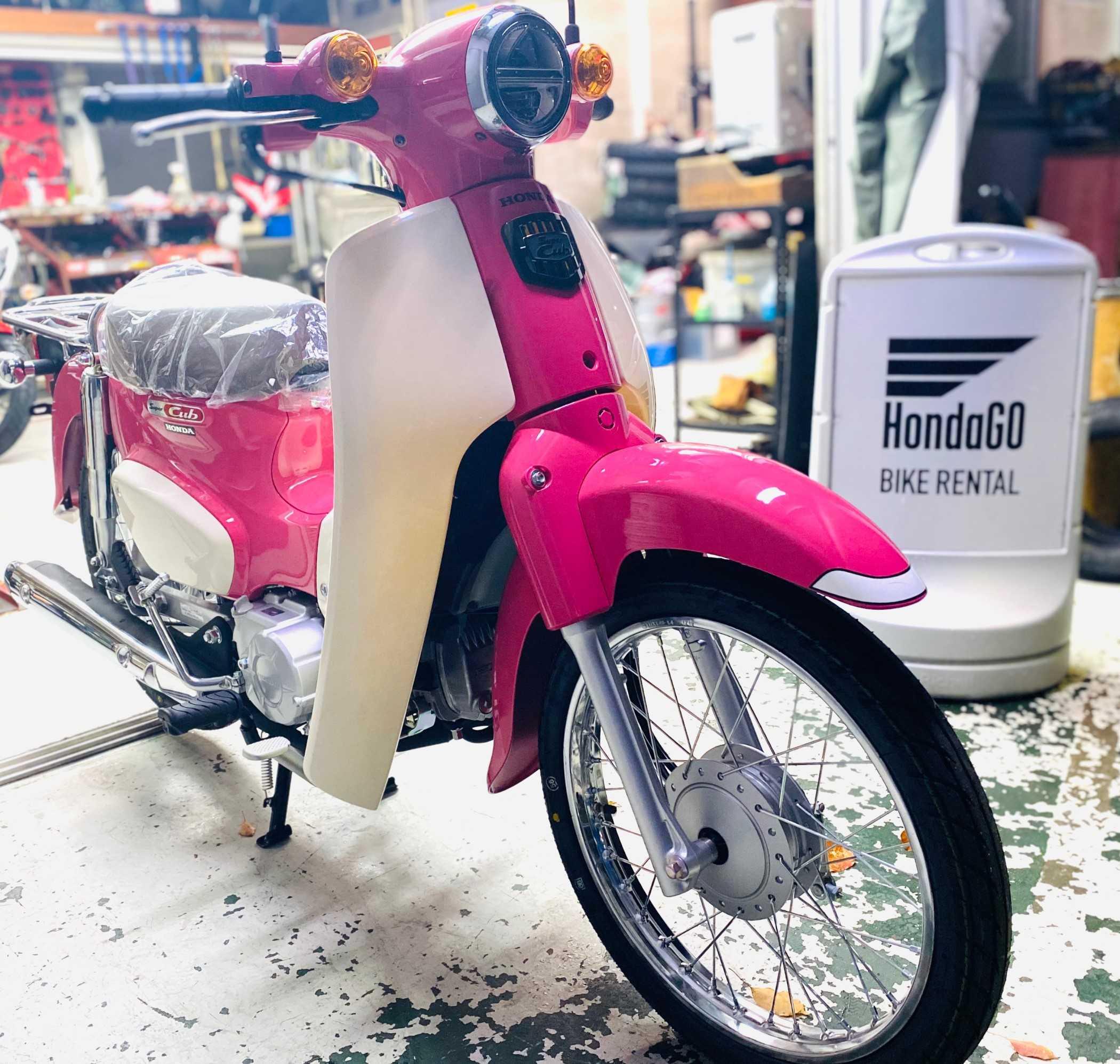 バイク ホンダ レンタル