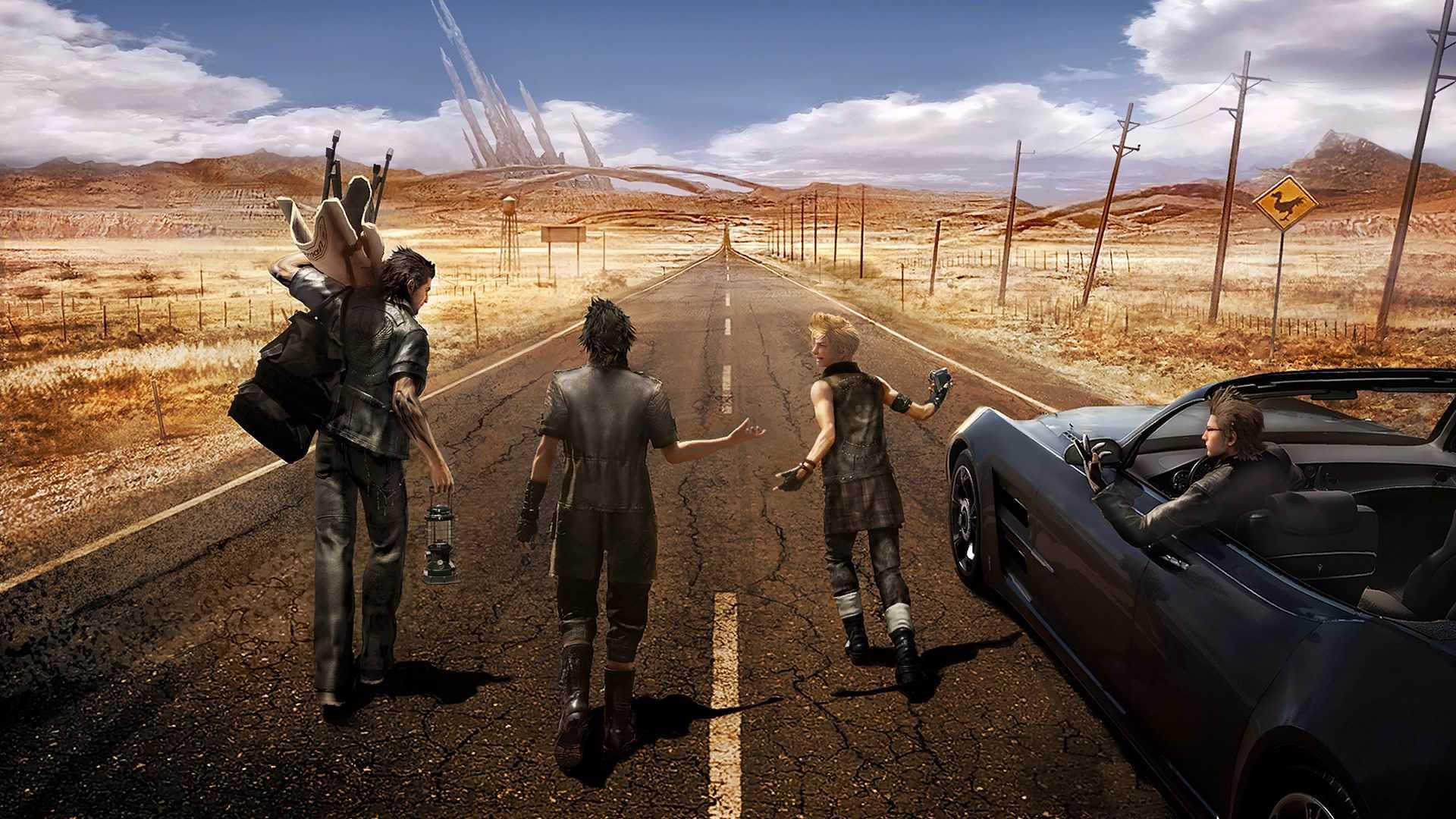 ファイナルファンタジー15 のんびり冒険編 趣味がゲームのおっさんのブログ