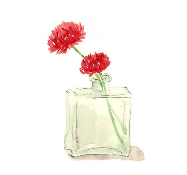 仕事絵,ノアザミ,花,初夏,植物,水彩画,イラスト,素材