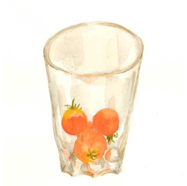 グラス,ロシア,高塚由子_Yoshiko,Taaktsuka,水彩画,イラスト