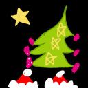 クリスマスランチ ふわふわのスマイル