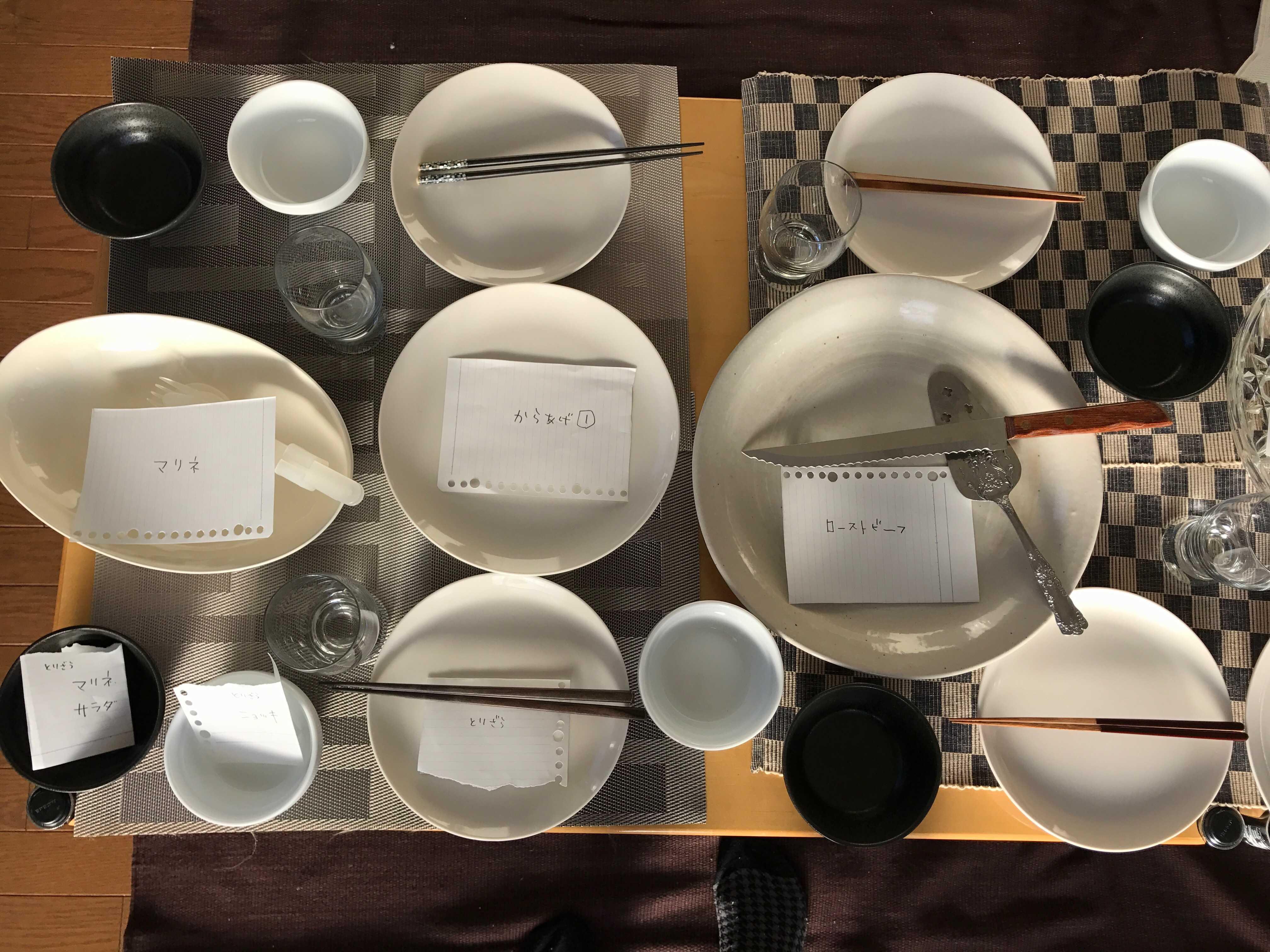 かといって、紙皿系は(wasaraを検討したこともあるのですが)せっかく作ってくれたごはんが美味しそうにみえないんですよね。
